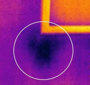 thermal imaging can detect issues under the stucco